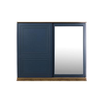Angel Ceviz Mavi Dolap Aynalı